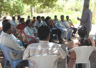 Mulberry Growers Group Meeting at Kanivepura on 31-3-2007