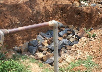 Raw Material for recharge pit2