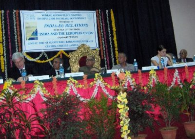 Seminar on India-EU relations at Bangalore