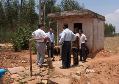 USAIDs Team Visited Project area on 19 April 2006